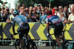 Chris Froome & James Fouche