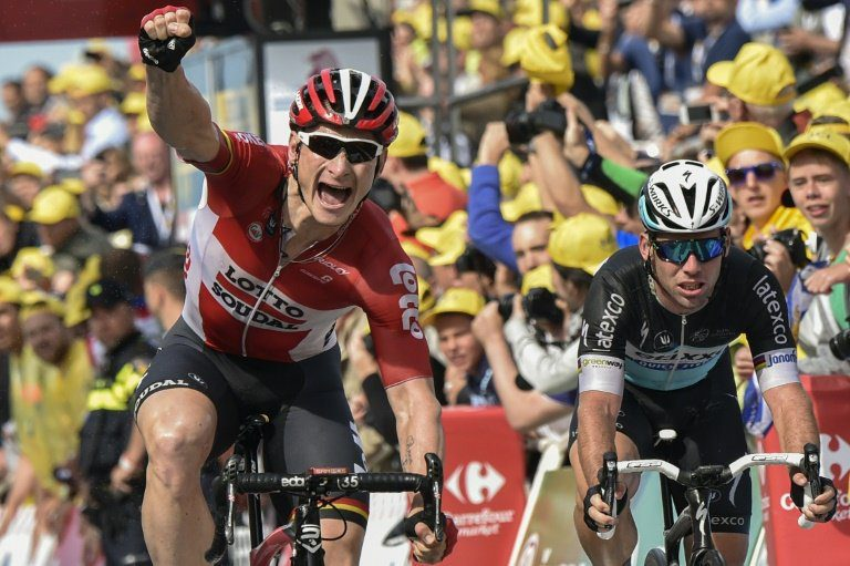 2015 Andre Greipel TDF Stage 2 Sprint Victory