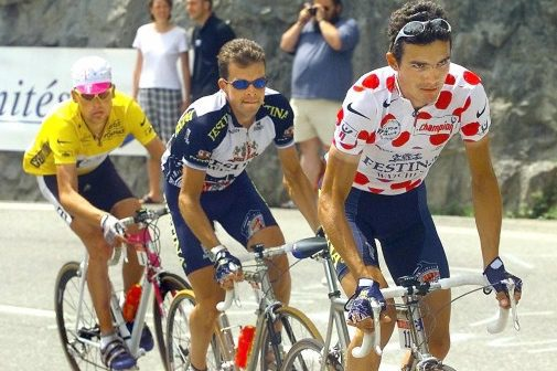 Richard Virenque King of the Mountain Jersey
