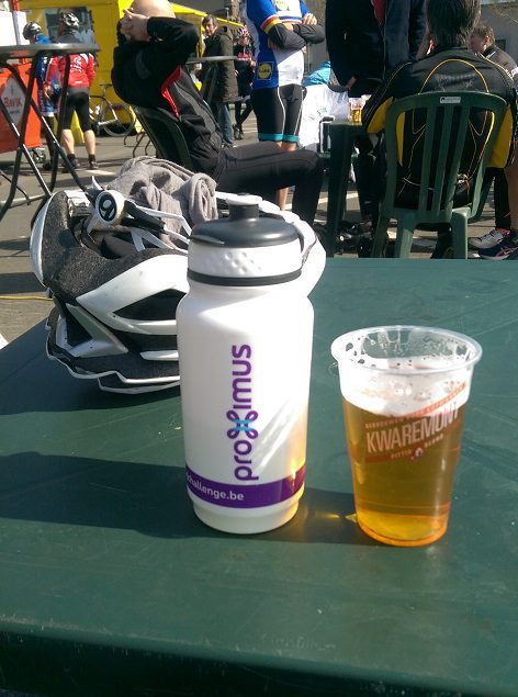 Finish with a beer - Gent Wevelgem Cyclo