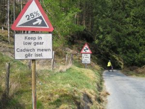 Devils Staircase Beginning Wales