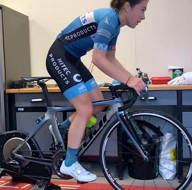 Riders look back on hard days in V-Women's Tour