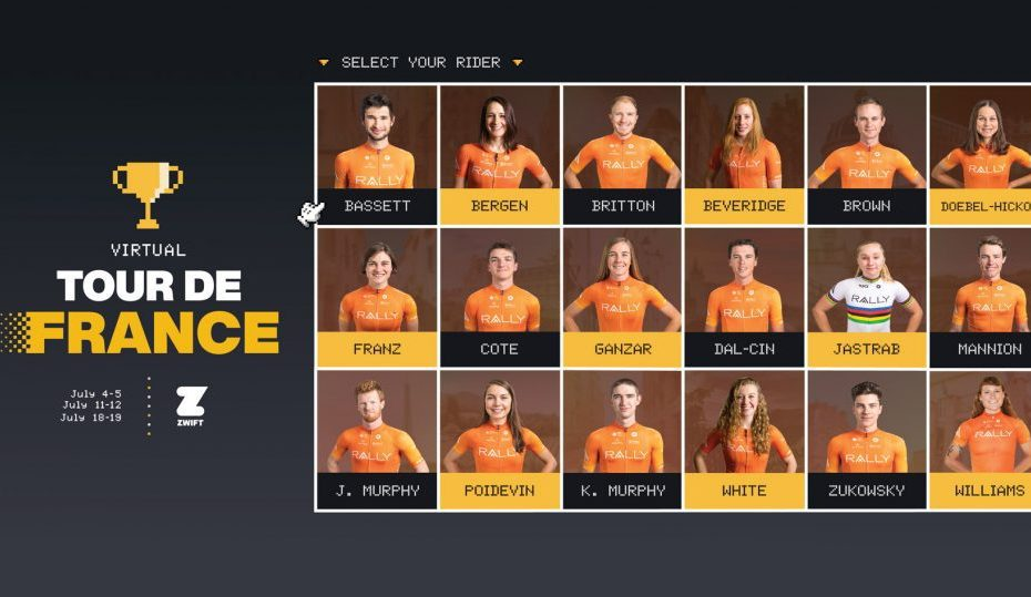 Rosters for Virtual Tour de France balance explosive power with tactical knowhow
