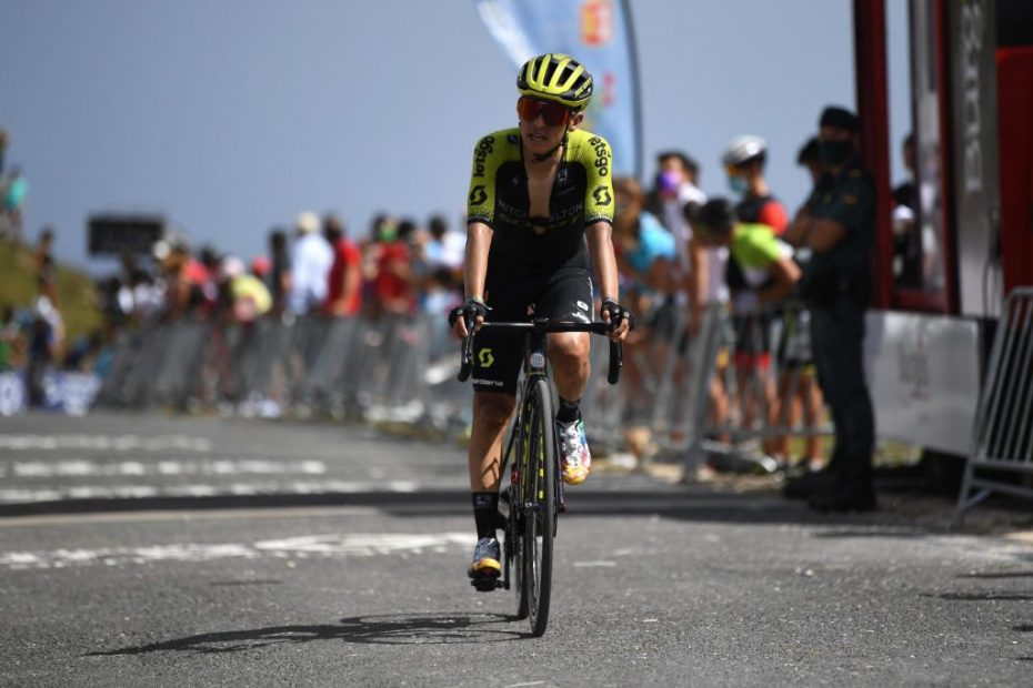 Chaves shows his cards on the first summit finish in Vuelta Burgos with a strong fourth place
