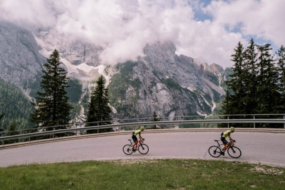 Gallery: Training in the Dolomites
