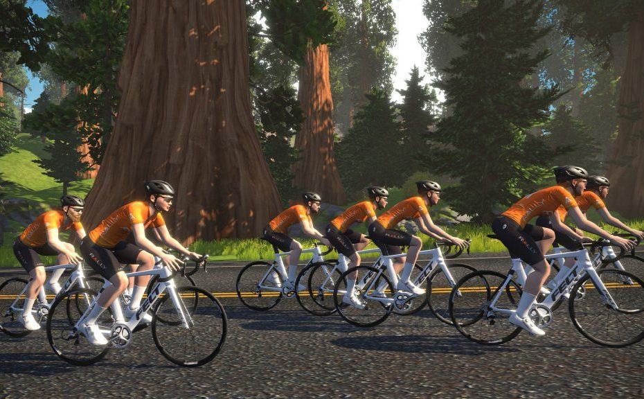 Team launches weekly social ride on Zwift