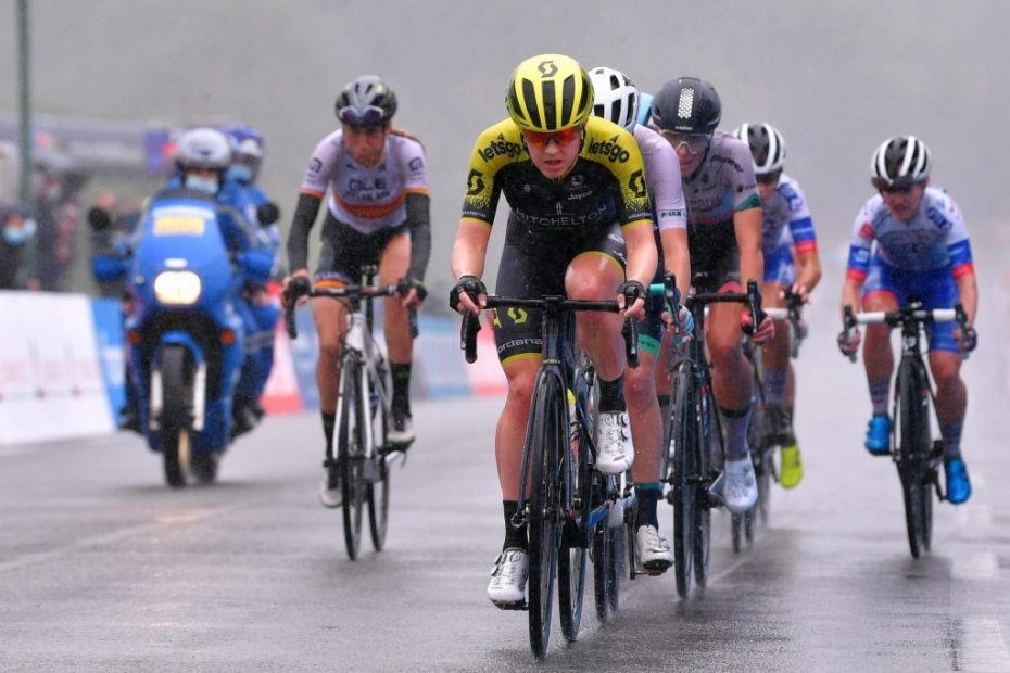 A hard chase but with no reward for Van Vleuten and Brown at GP Plouay Lorient Agglo