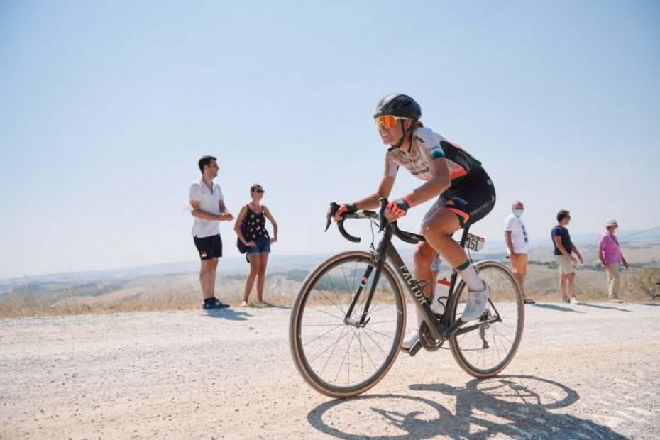 Back to racing with an extreme edition of Strade Bianche