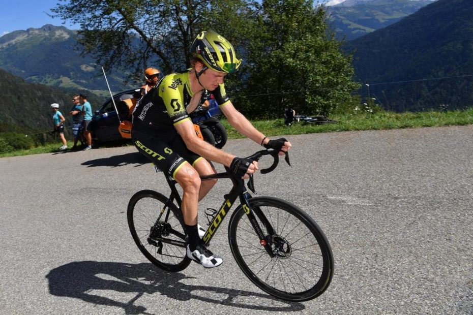 Haig takes fourth from the breakaway on stage four of the Criterium du Dauphine