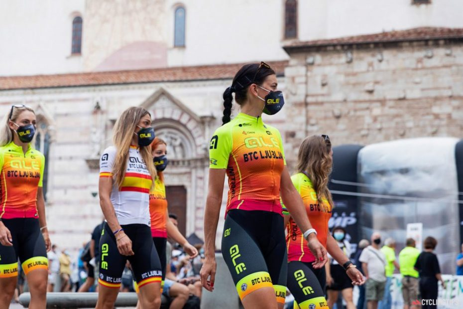 In the magic moment of Slovenian cycling there is also the growth of the girls of Alé BTC Ljubljana