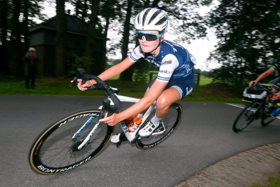Abi Van Twisk puts cycling career on hold for maternity leave