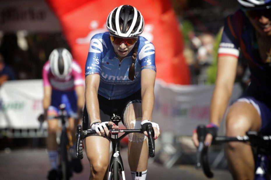 Another solid showing from Liane Lippert claiming 6th at Giro Rosa