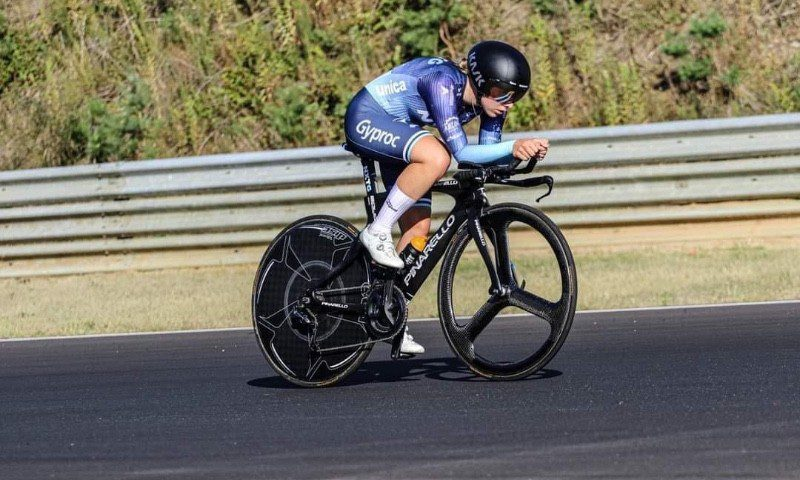 Britt and Shari to national time trial championships