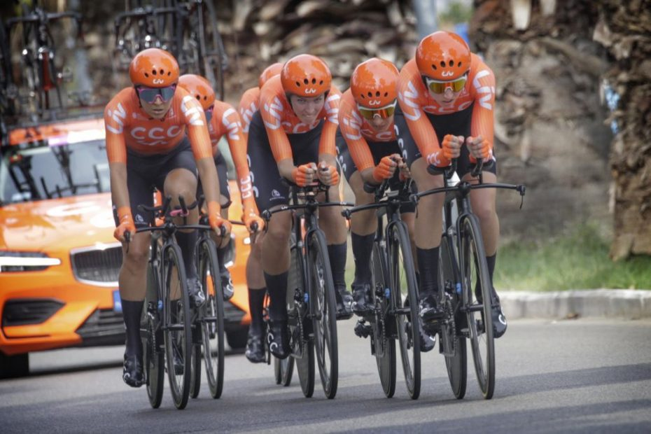 CCC-Liv opens Giro Rosa with seventh fastest time in the team time trial