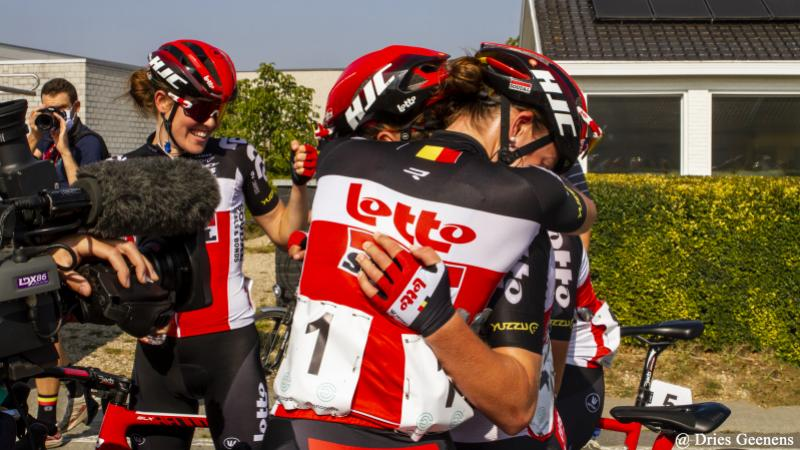 A big step forward for Lotto Soudal Ladies