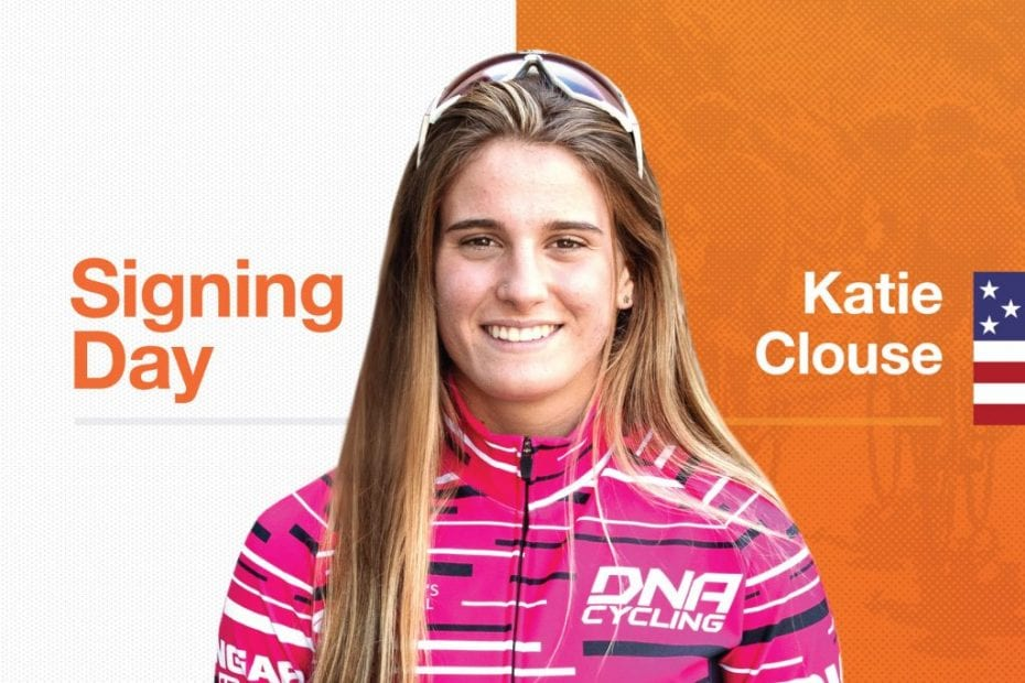 Rally Cycling signs 31-time junior national champ Katie Clouse
