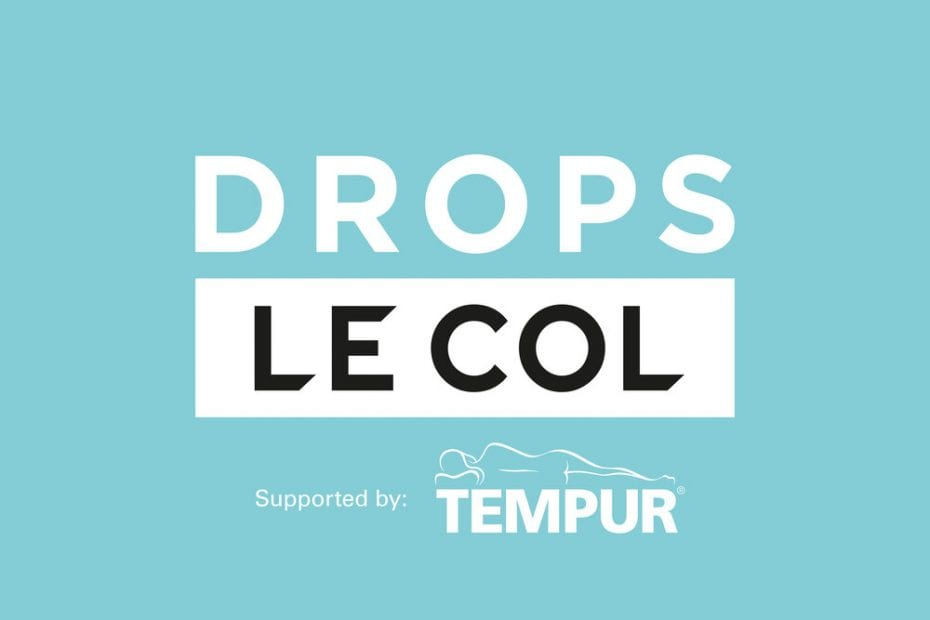 Drops – Le Col supported by TEMPUR for 2021