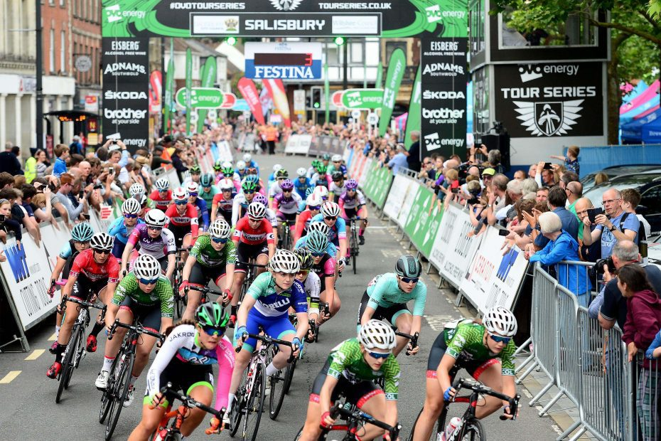 Britain's Tour Series Partners up with USA Crits in 2021 and 2022