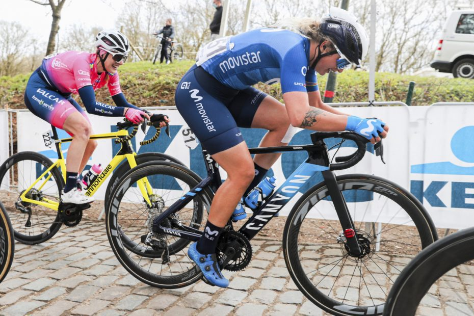 Norsgaard continues to give her maximum: 9th in Gent-Wevelgem