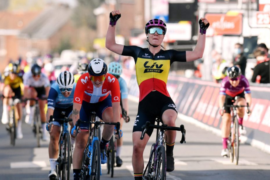 Kopecky wins her second Belgian title in a row