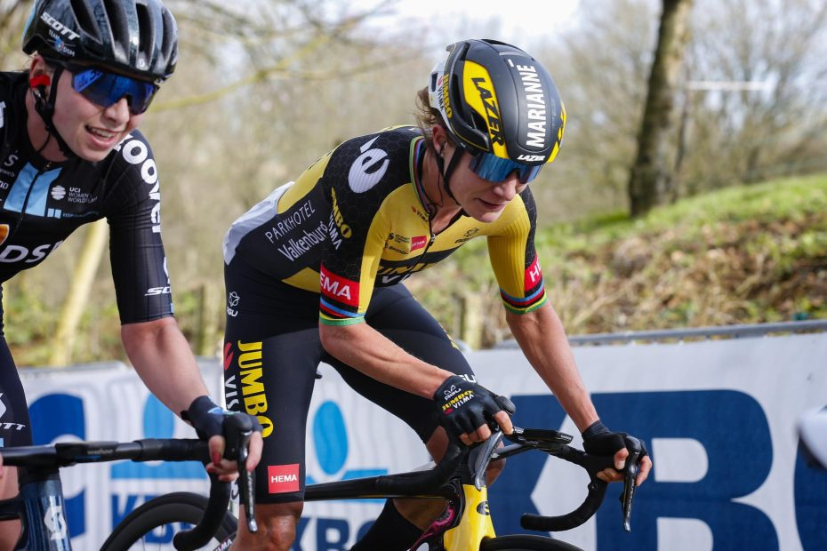 Vos also leading in Tour of Flanders