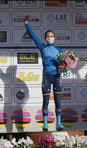 Gigante leads UCI Women's WorldTour best young rider standings