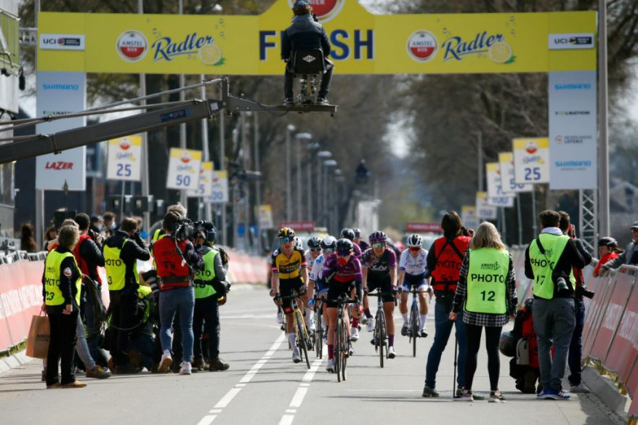 Race Report: Demi Vollering sprints to second place in Amstel Gold Race