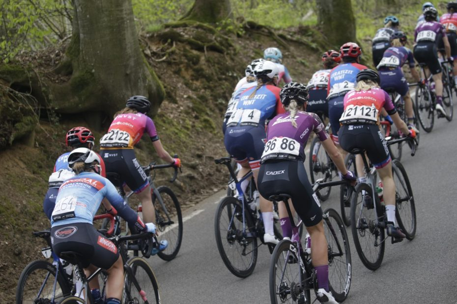 Liv Racing races with the right attitude in the first stage of Festival Elsy Jacobs