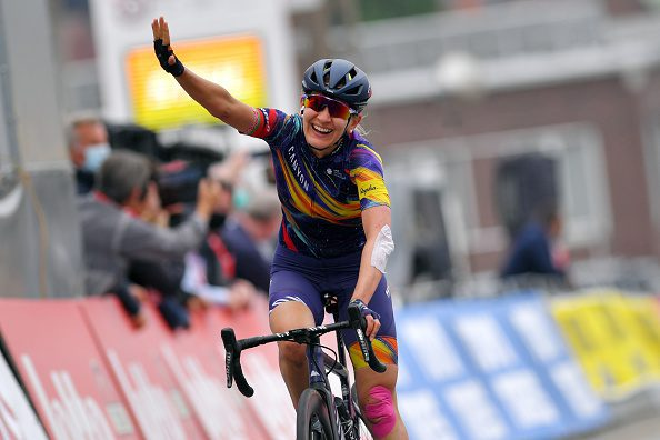Alena takes victory on stage 2