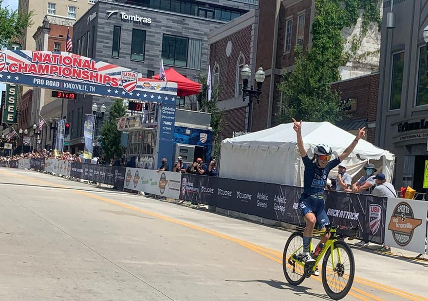 Stephens claims stars and stripes glory in Knoxville