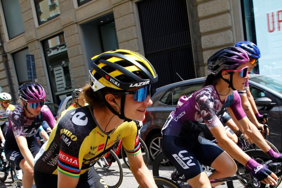 Giro Donne: Sofia Bertizzolo sprints to seventh place in fifth stage