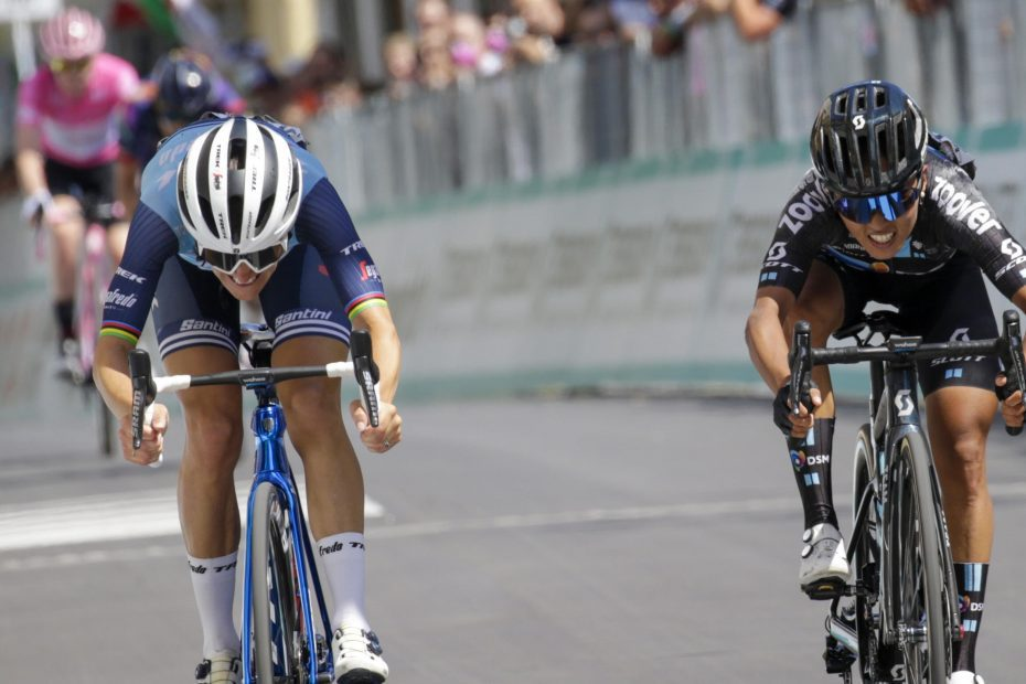 'I couldn't even think straight':  Deignan 2nd in final Giro stage