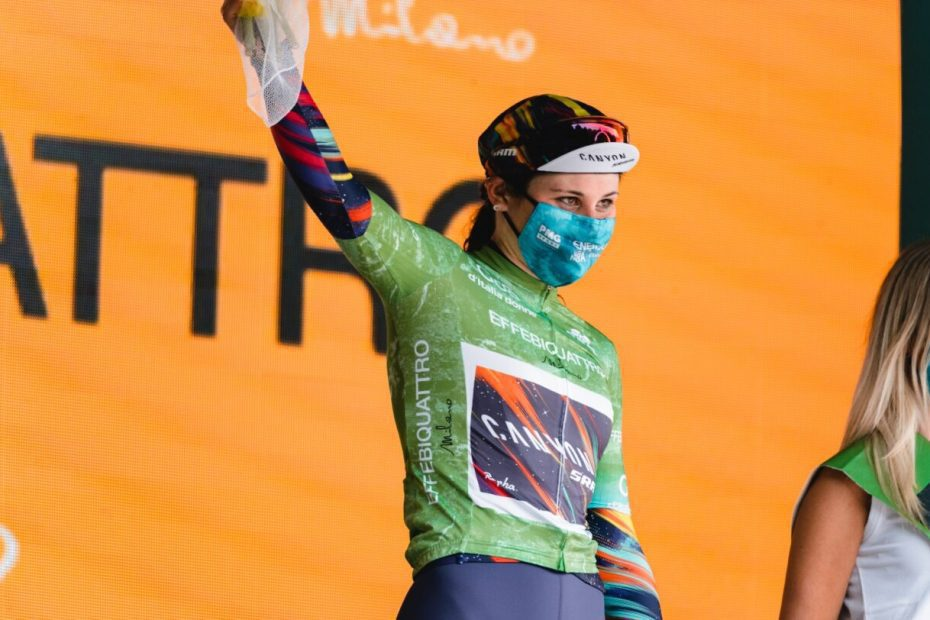 Elise moves into QOM Jersey