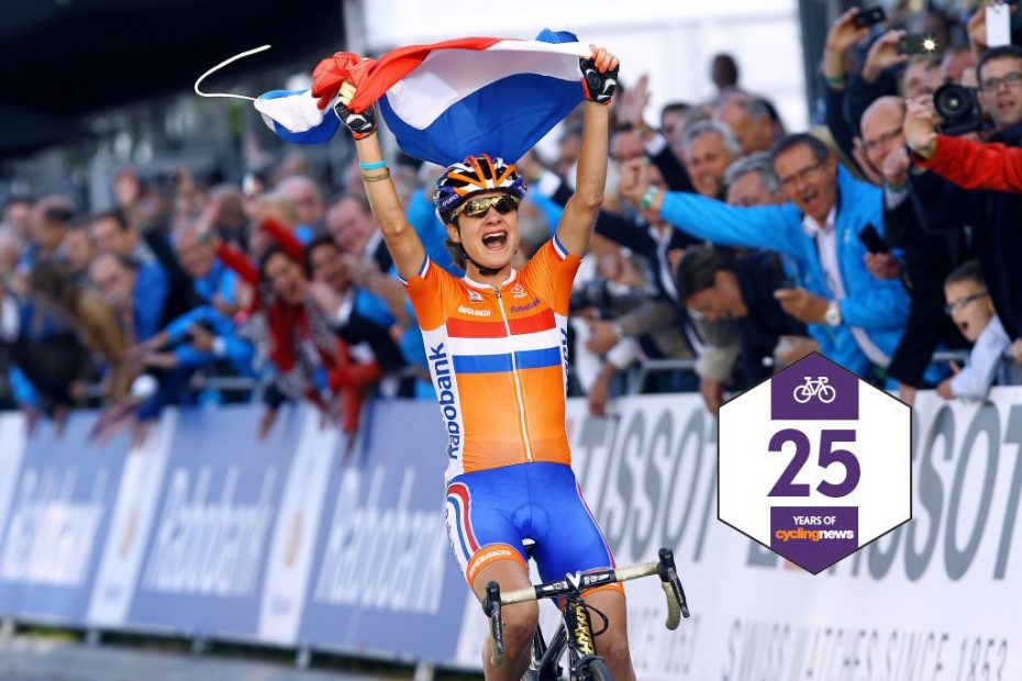 Who has won the cycling world championships in their home country?